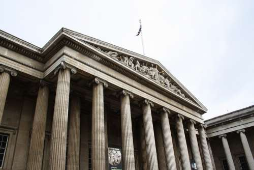 The British Museum Museum Old Building London
