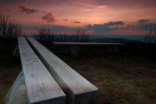 The Sun West Sky Clouds Landscape Twilight Nature