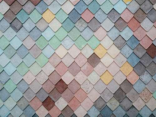 Tiles Shapes Texture Pattern Art Creative Design