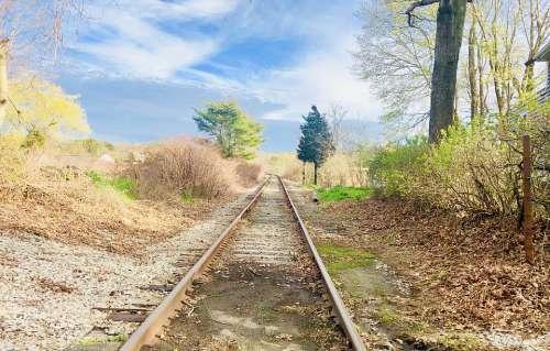 Train Tracks Sandwich Ma Cape Cod Train Railroad