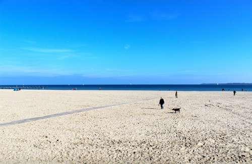 Travemünde Beach Sea Baltic Sea Coast Water