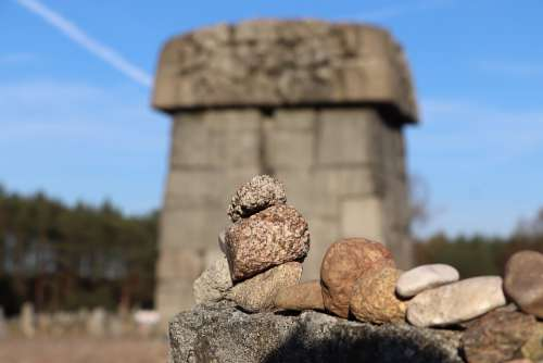 Treblinka Konzentrationslager Poland Europe Nazi