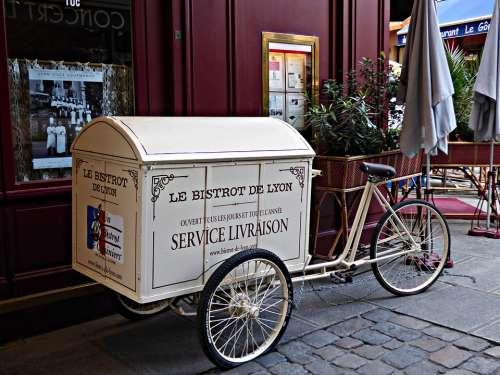 Trim Bicycle City Vintage Design Retro Wheels
