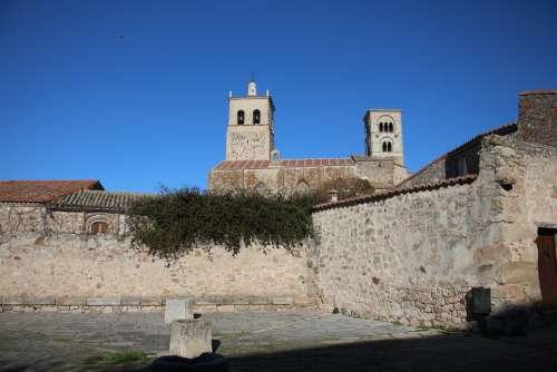 Trujillo Torres Church Extremadura Bell Tower