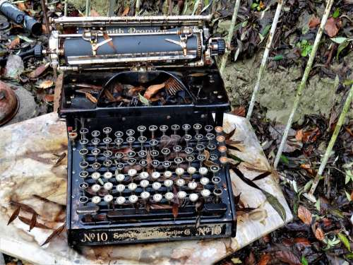 Typewriter Antique Retro Write Old Machine Writer