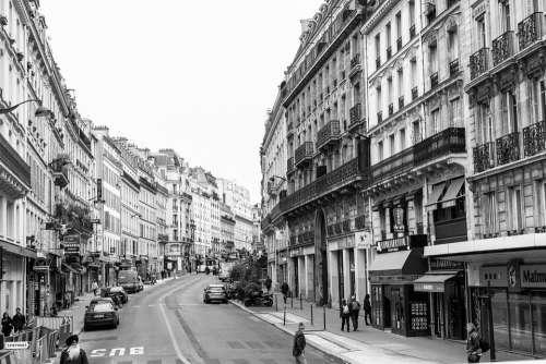 Urban Paris City France Architecture Building