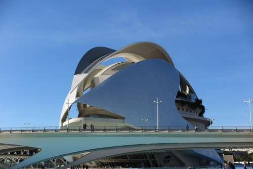 Valencia Spain Architecture Building Tourism