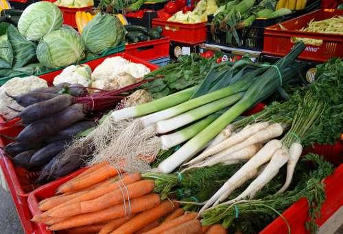 Vegetables Market A Vegetable Eating Jarzyna Food