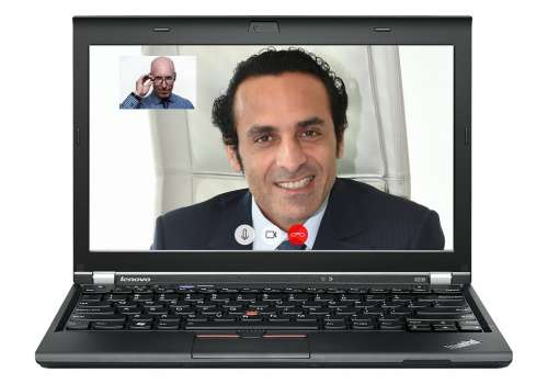 Video Conference Business Meeting Skype