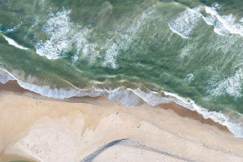 View Aerial Nature Beach Aerial Landscape Drone