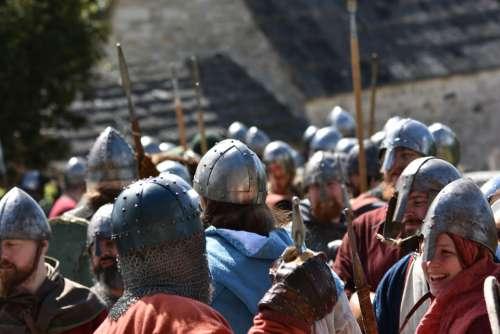 Viking Reenactment Vikings Armor Medieval Costume