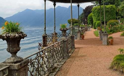 Villa Garden Summer Terrace Park Luxury Italy