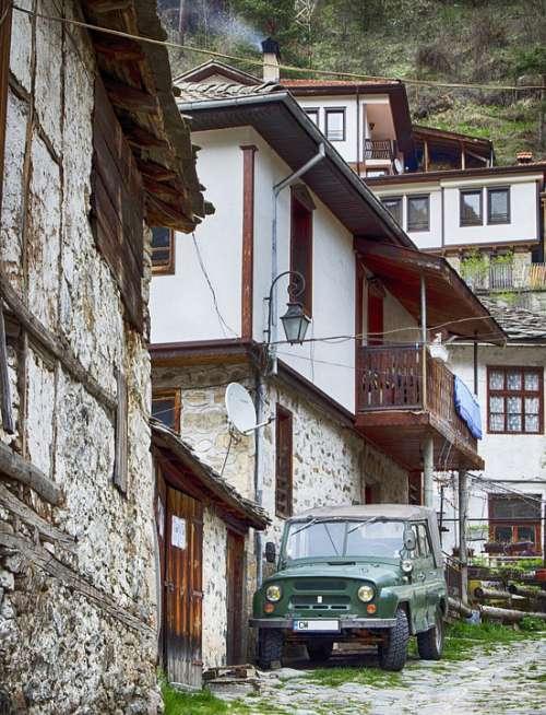 Village Bulgaria Transportation Made In Russia