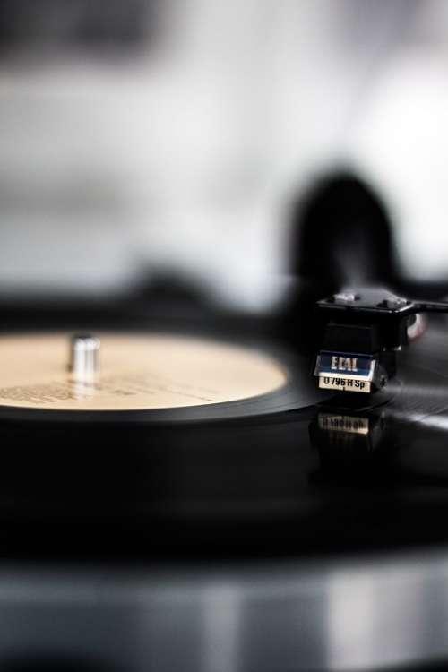 Vinyl Record Plate Music Analog Vintage Hifi