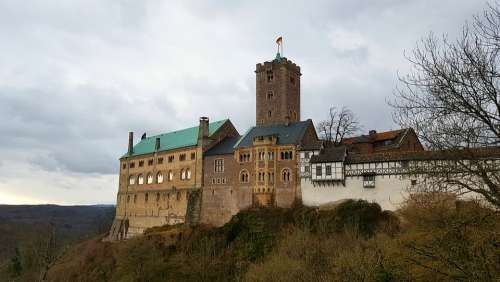 Wartburg Castle Thuringia Germany Castle Eisenach