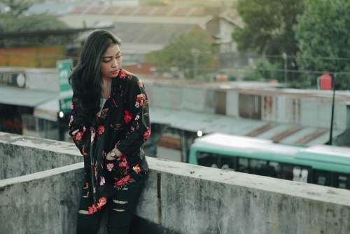 Woman Model Women Make Up Indonesian Girl