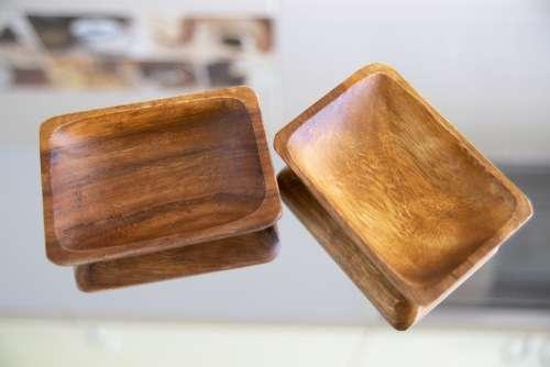 Wooden Decorations Decor Decorative Natural Brown