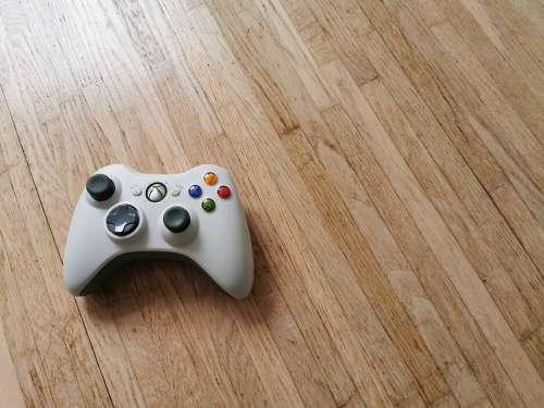 Xbox Control Play Game Joystick Entertainment