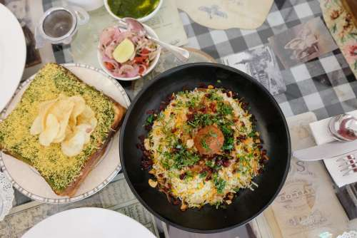 Indian Restaurant Dishes