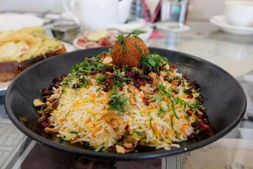 Indian Food Bhel Puri