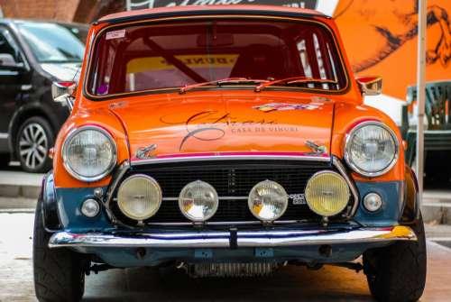 Rally Mini Cooper
