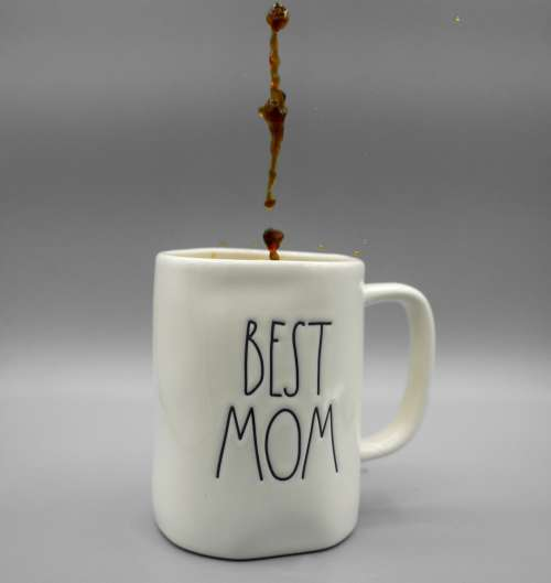 """Best Mom"" Coffee Mug Photo"