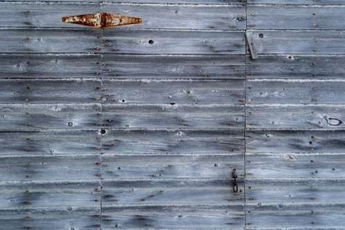 Hidden Wooden Door Photo
