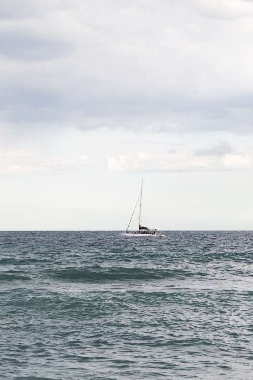 Little Boat On The Water Photo