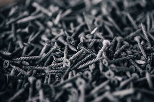 Pile Of Screws Photo