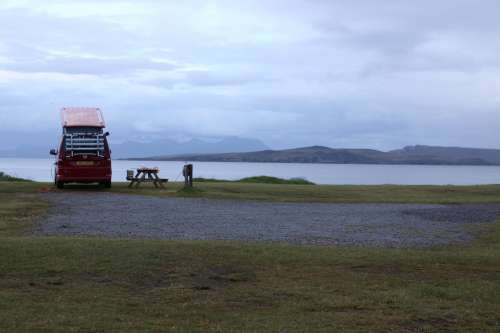 Recharging At A Lake Photo