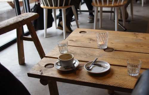 cafe coffee table indoor interior