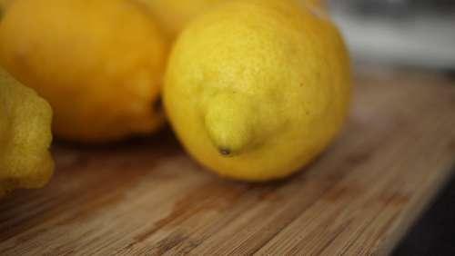 lemons cooking limoncelo wood yellow