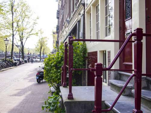 amsterdam netherlands city view street view city