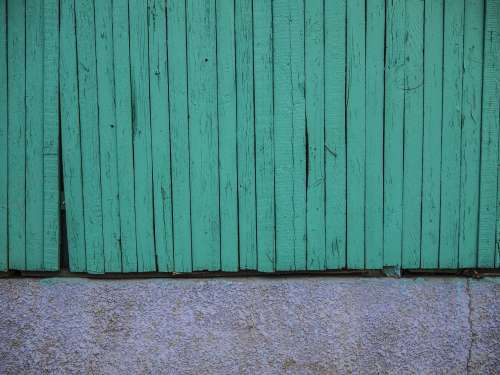 fence green texture minimal background