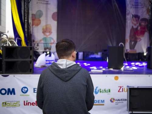 moldova concert lights stage performance