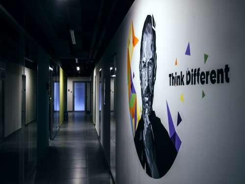 steve jobs drawing wall drawing office tekwill