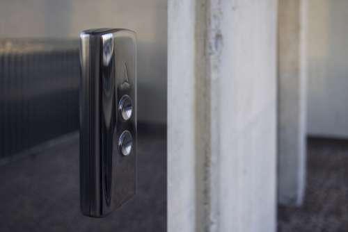 elevator lift metal aluminium reflection