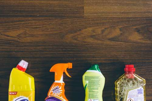 Household cleaning products 10
