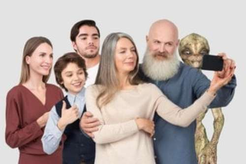 Let's Take A Moment To Capture Our Intergalactic Family