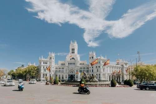 Plaza de la Cibeles - Central Post Office (Palacio de Comunicaciones), Madrid, Spain