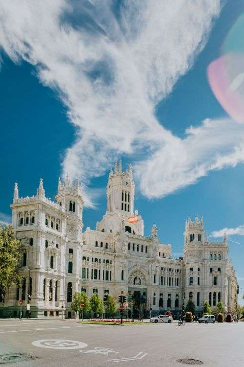 Plaza de la Cibeles - Central Post Office (Palacio de Comunicaciones), Madrid, Spain