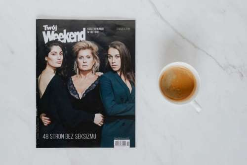 "The last issue of the oldest and the most iconic porn magazine in Poland - ""Twój Weekend"""