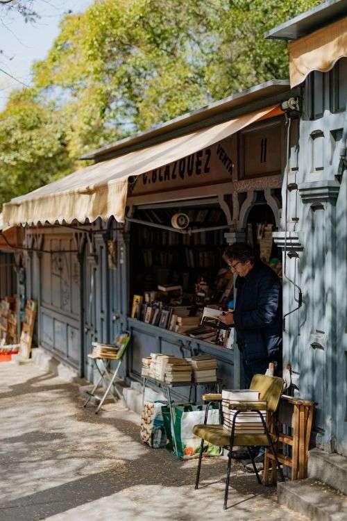 Street book fair
