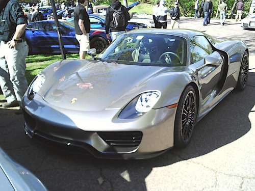 Porsche 918 Spyder Electric Super