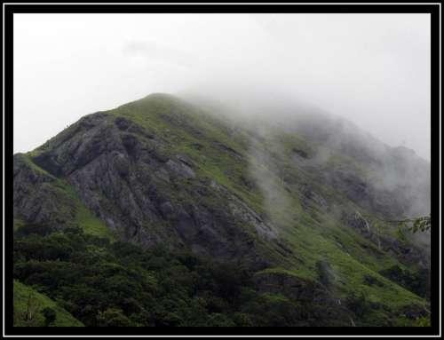 Mountains Asia fog mist