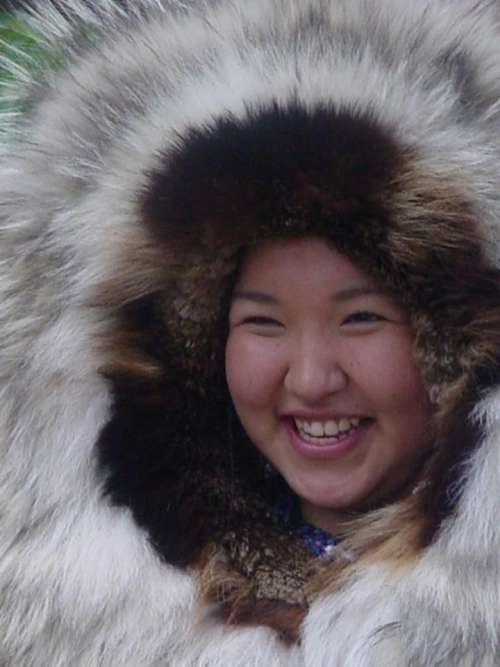 Inupiat Athabascan Native Alaska Girl