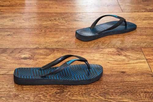 flip-flop sandal shoe footwear floor