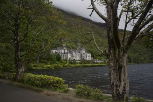 Kylemore Abbey Connemara County Ireland Irish Celtic