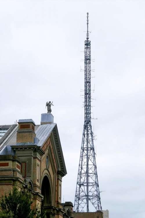 antenna transmitter radio mast Alexandra Palace