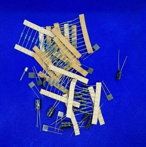 resistors capacitors components electronics discrete